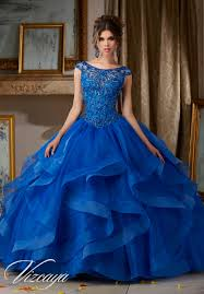 organza quinceañera dress with jeweled beaded bodice and bateau