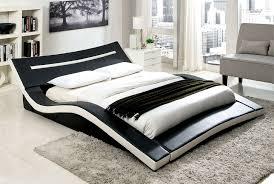 Modern Low Profile Platform Bed