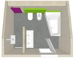 badezimmer planung mit t lösung und dachschräge badezimmer