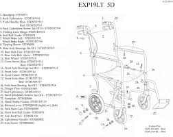 Medline Transport Chair Instructions by Lightweight Expedition Transport Wheelchair With Hand Brakes