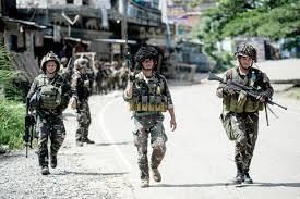 siege army philippines army struggles as city siege enters fourth week kuwait
