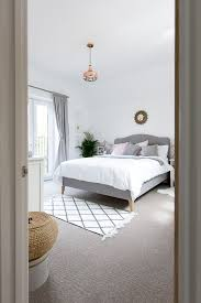 Grey White Blush Bedroom