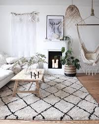 flauschiger hochflor teppich naima handgetuftet