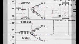 schema electrique lave linge brandt branchement electrique moteur machine a laver electronique