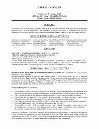Supervisor Resume Safety Skills Najmlaemah Com