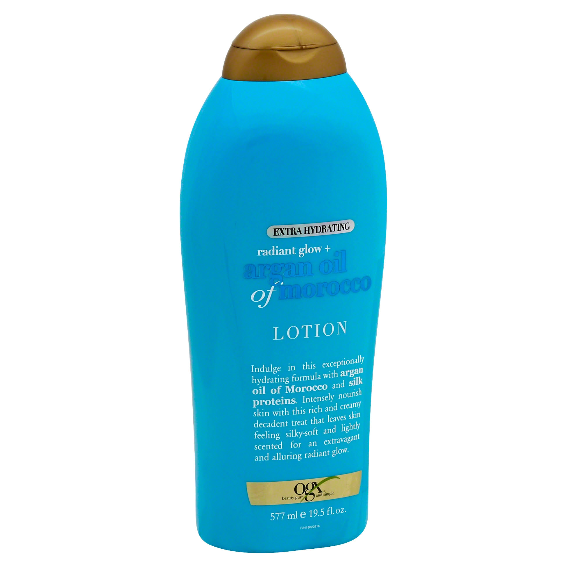 Ogx Radiant Glow Plus Argan Oil of Morocco Lotion - 19.5oz