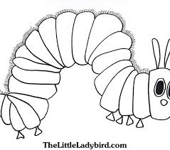 Caterpillar Coloring Page New Brockportcc Free Online