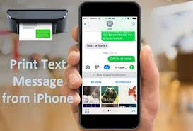 How to Print Text Messages from iPhone 7 6S 6 5S 5