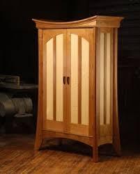 Cherry And Maple Prayer Shawl Cabinet