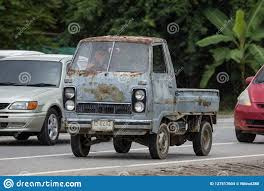Private Mini Truck Of Daihatsu Hijet Editorial Stock Image - Image ...