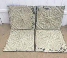 Antique Ceiling Tiles 24x24 by Antique Tin Ceiling Tiles Ebay