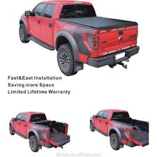 100 Truck Bed Covers Roll Up Soft Up Tonneau Cover Pickup For Hilux Revo Buy