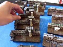 hirst arts d d dungeon tile new dungeon build youtube