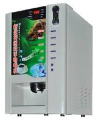 Hot Sale Coin Operated Coffee Vending Machineuse Powder Material