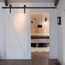 Interior Barn Doors Paint : Very Simple Interior Barn Doors – All ... Best 25 Glass Barn Doors Ideas On Pinterest Interior Glass Pacific Entries 36 In X 84 Shaker 2panel Primed Pine Wood Barn Doors For Homes Outstanding Sliding Pa Nj Md Va Ny New Holland Supply Knotty Door Home Bedroom Decofurnish For Sale Picturesque Grey Finished With Building A Interior Sliding Homes_00032 Concord Green The Have Arrived