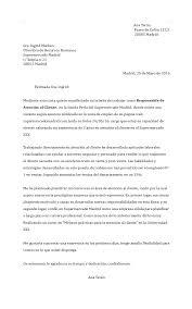 Modelo De Carta De Renuncia Laboral Sencilla En Word Modelo De