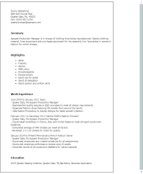 Sample Resume Production Worker Good Job Samples Factory Example