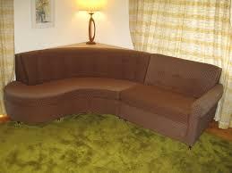 mid century modern castro convertible curved sleeper sofa vintage