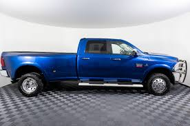 Used 2011 Dodge Ram 3500 Laramie Dually 4x4 Diesel Truck For Sale ...