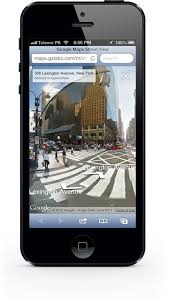 GOOGLE MAPS MOBILE WEB APP ADDS STREET VIEW FOR IOS AND ANDROID