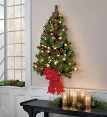 Hang A Lighted Christmas Tree Wall