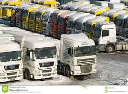 100 Used Heavy Trucks For Sale Of New And In Moscow Editorial Photography