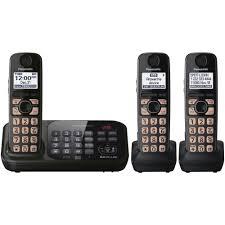 Amazon.com : Panasonic KX-TG4743B DECT 6.0 Cordless Phone With ... Panasonic Cordless Phone And Answering Machine With 2 Kxtgf342b Voip Phones Polycom Desktop Conference Kxtgc223als Reviews Productreviewcomau Design Collection Phone Answering Machine Voip8551b Kxtgp550 Sip System Kxtg6822eb Twin Dect Telephone Set Amazonco Officeworks Kxtg5240m 58 Ghz Fhss Gigarange Supreme Expandable Kxtgp0550 For Smb Youtube Kxtgp 500 Buy Ligo Amazoncom Kxtgd220n 60 Digital Corded Home Office Telephones Us