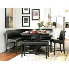 Corner Dining Table Nook Set Counter Height With Regard To 6