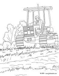 Coloriage Tracteur 68 Dessin