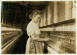 Girl Working In Textile Factory Margaret Knights Shuttle System Protected Child Laborers