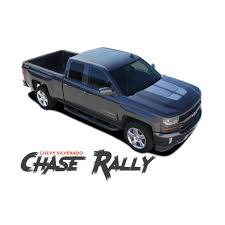 100 Chevy Decals For Trucks Silverado Hood Stripes CHASE RALLY Rally Edition Hood Decal