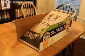 How To Make A Toy Chest by How To Make A Cardboard Box Race Track For Wheels Cars