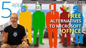 Five fantastic free alternatives to Microsoft fice
