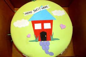 Home Sweet Housewarming Cake