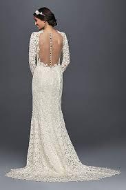 Long Sheath Vintage Wedding Dress