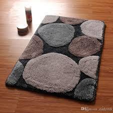 großhandel stein muster badezimmer bad matte maschinenwäsche anti rutsch badezimmer matte teppich in der toilette bad matten badezimmer teppiche