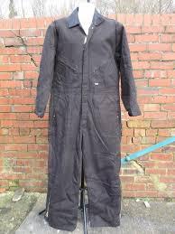 L Vintage 90s Mens Walls Black Boiler Suit