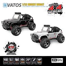 100 4 Wheel Drive Rc Trucks Vatos Remote Control Cars RC Cars Off Road High Speed WD 5kmh 122