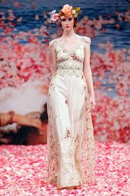 List 16 Bohemian Wedding Dresses By Claire Pettibone Top Famous Fashion Designer