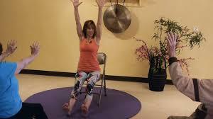 Full Seated Chair Yoga Sun Salutations