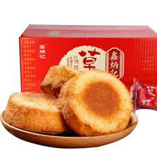 cuisine de a炳 鑫炳记草子糕1500g 整箱独立包装小吃休闲食品零食蛋糕点早餐包邮 图片