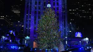 Rockefeller Plaza Christmas Tree 2014 by The 82nd Annual Rockefeller Center Christmas Tree Lighting
