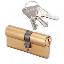 barillet securite porte entree barillet pour porte d entrée pvc 40 x 50 mm materiauxnet