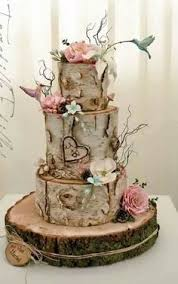 Unbelievably Gorgeous Cake For A Rustic Woodland Or Enchanted Forest Theme Wedding Just Spring