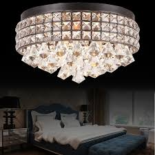 retro vintage königlichen kristall k9 decke leuchte hängenden tropfen dekore glanz decke le schlafzimmer e12 kristall kunst len