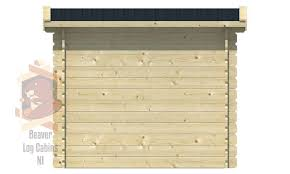 100 Log Cabin Extensions Extension 28mm
