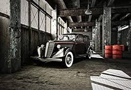 fototapete tapete 3d oldtimer garage tapete fototapete auto