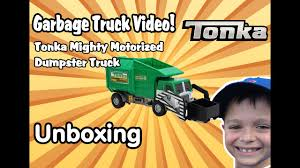 Garbage Truck Videos For Children - UNBOXING Tonka Mighty DUMPSTER ... Funrise Toy Tonka Mighty Motorized Garbage Truck Ebay Bowen Toyworld All Videos Produced 124106 Approved Meijercom Toys Buy Online From Fishpondcomau Uk Fleet Site Luca Opens His New Youtube Mighty Motorized Front Loader With Lights And Trucks Take A Look At This Friction Powered Light Sound Tonka Digging Tractor Big Rig In Box 3000 Vehicle Frontloader Waste