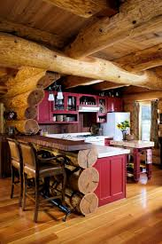 Log Cabin Kitchen Cabinet Ideas by 178 Best Kitchen Inspirations Images On Pinterest Home