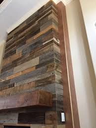 Lynn's Reclaimed Wood Accent Wall With Custom Mantle | Fama Creations Reclaimed Fireplace Mantels Fire Antique Near Me Reuse Old Mantle Wood Surround Cpmpublishingcom Barton Builders For A Rustic Or Look Best 25 Wood Mantle Ideas On Pinterest Rustic Mantelsrustic Fireplace Mantelrustic Log The Best